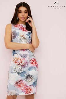 Angeleye Floral Bodycon Dress