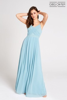 Girls On Film Chiffon Strappy Back Maxi Dress