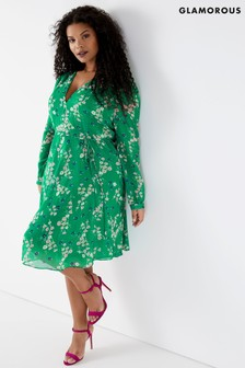 discover latest trends better new collection Women's Dresses Glamorous Tea Dress Curve Teadress | Next ...