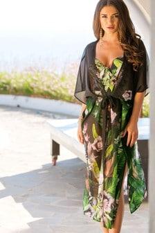 Pour Moi Orchid Luxe Maxi Kimono