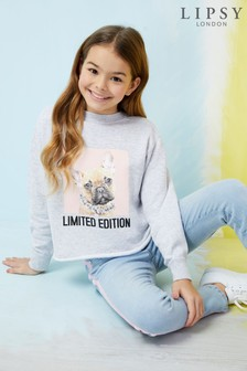 Lipsy Girl French Bulldog Sweat Top
