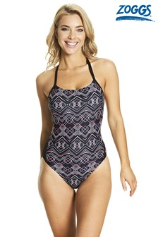Zoggs Electric T-Back Swimsuit