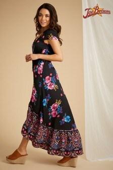 Joe Browns Funky Fishtail Border Print Dress