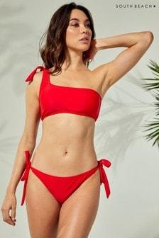 South Beach One Shoulder Knot Bikini