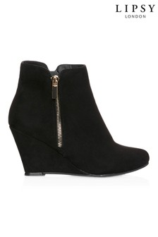 Lipsy Wedge Ankle Boots