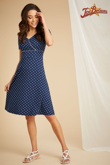 Joe Browns Perfect Polka Dot Jersey Dress