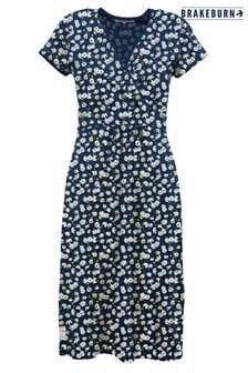 Brakeburn Aster Daisy Wrap Dress