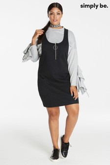 Simply Be Pinafore Dress
