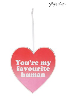 Paperchase Favourite Human Heart Plaque