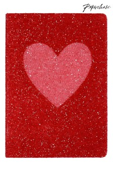 Paperchase A5 Gem Hearts Notebook