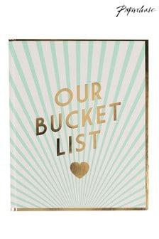 Paperchase Wedding Couples Bucket List