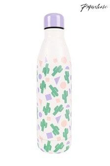 Paperchase Cactus Metal Water Bottle