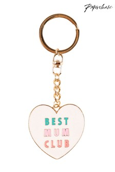 Paperchase Best Mum Club Keyring