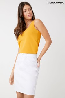 Vero Moda High Waist Denim Skirt