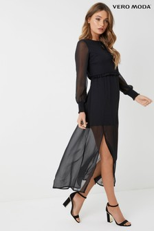 Vero Moda Tall Chiffon Dress