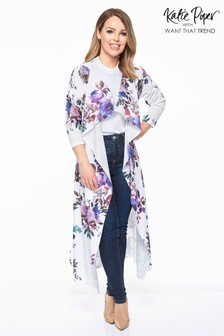 Want That Trend Floral Waterfall Jacket