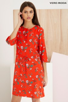 Vera Moda Floral Print Short Dress