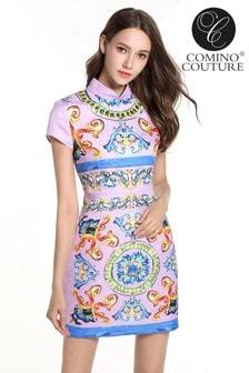 Comino Couture China Doll Mini Dress
