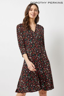 Dorothy Perkins Ditsy Floral Wrap Dress