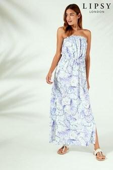 Lipsy Floral Maxi Beach Dress