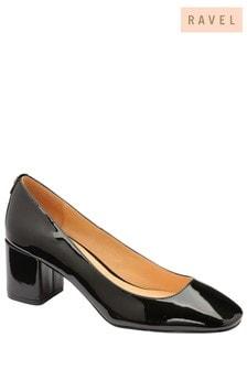 Ravel Block Heel Court Shoe