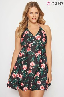 Yours Tropical Swim Dress