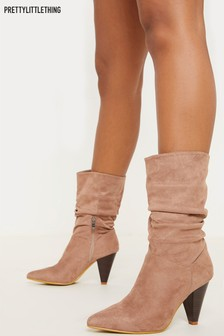 PrettyLittleThing Slouch Boots