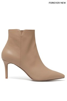 Forever New Pointed Mid Heel Boots