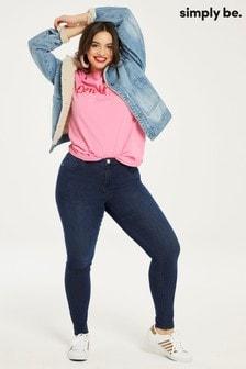 Simply Be Curve Chloe Skinny Jeans Regular Length