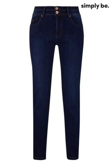 Simply Be High Waist Sculp and Shape Skinny Jeans