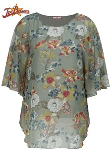 Joe Browns Curve Floaty Floral Blouse