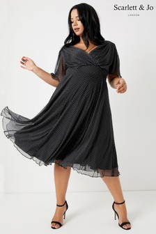 Scarlette & Jo Curve Baby Lollidot Angel Dress