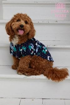 Chelsea Peers Dog Snowy Mountain PJ Set