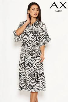 AX Paris Printed Shirt Dress