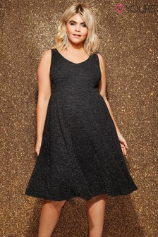 Yours Sparkle Jersey Dress