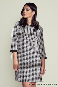 Dorothy Perkins Long Sleeve Shift Dress