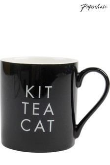 Paperchase Kit Tea Cat Ceramic Mug
