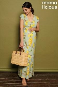 Mamalicious Maternity Jersey Maxi Dress