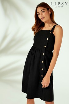 Lipsy Button Through Beach Dress