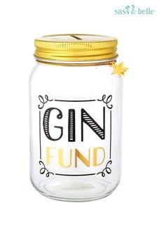Sass & Belle Gin Fund Money Jar