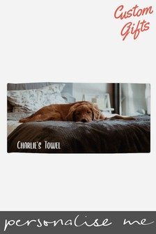 Personalised Dog Towel by Custom Gifts