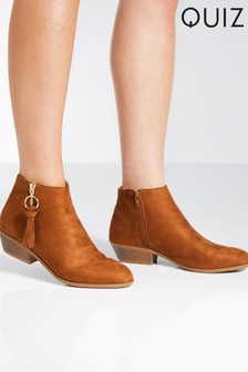 Quiz Western Ankle Boots