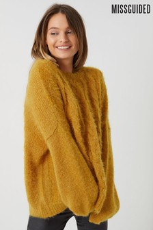 Missguided Cable Knit Jumper