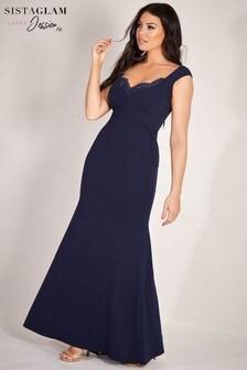 Sistaglam Loves Jessica Bodycon Maxi Dress
