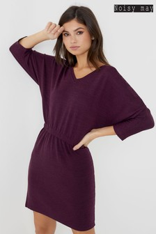 Noisy May Bat Sleeve Dress