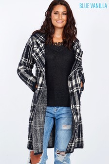 Blue Vanilla Check Coat