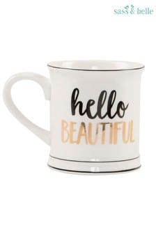 Sass & Belle Hello Beautiful Mug