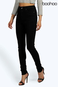 Boohoo Super High Waisted Skinny Jeans