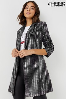 4th And Reckless Embellished Blazer Dress