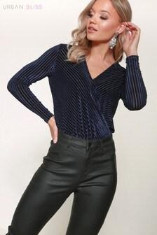 Urban Bliss Stripe Bodysuit